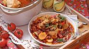 Фото рецепта Рагу из курицы и фасоли