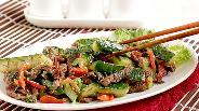 Фото рецепта Огурцы с мясом по-корейски