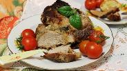 Фото рецепта Свинина в горчично-медовом маринаде с тимьяном в духовке