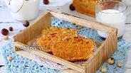 Фото рецепта Морковный кекс с фундуком