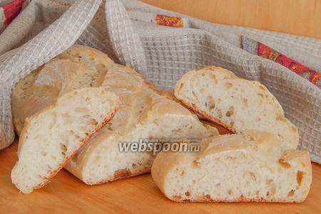 Хлеб на рисовой заварке