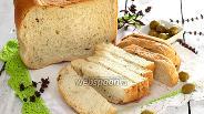 Фото рецепта Хлеб с оливками и итальянскими травами
