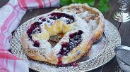 Фото рецепта Крымчакский калачих (бублики с начинкой)