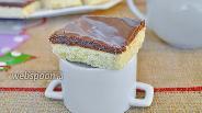 Фото рецепта Домашнее печенье с шоколадной карамелью