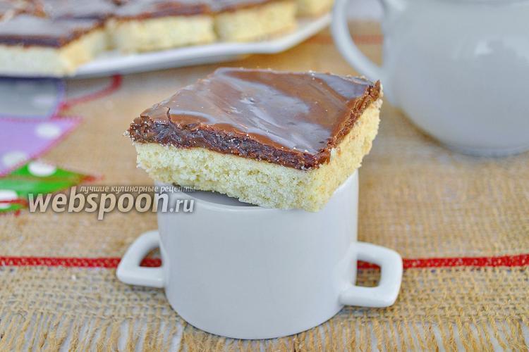 Фото Домашнее печенье с шоколадной карамелью