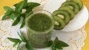 Фото рецепта Жиросжигающий зелёный коктейль