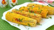Фото рецепта Жареная кукуруза на сковороде