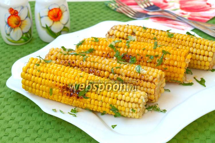 Фото Жареная кукуруза на сковороде