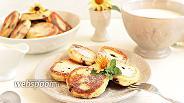 Фото рецепта Сырники с черникой