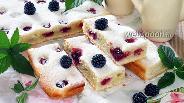 Фото рецепта Пирог с ежевикой