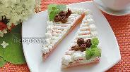 Фото рецепта Бисквитное пирожное «Нежность»