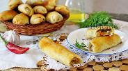 Фото рецепта Пирожки-сигары с капустой