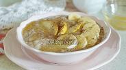 Фото рецепта Овсянка с бананом и грушей