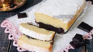 Фото рецепта Кекс черно-белый «Тет-а-тет»