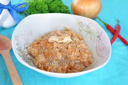 Пшеничная каша с мясом