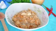 Фото рецепта Пшеничная каша с мясом
