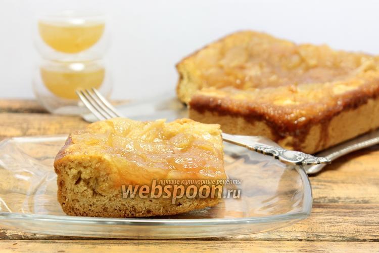 Фото Пирог с яблоками и грушами