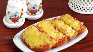 Фото рецепта Горячие бутерброды с перцем и острой начинкой