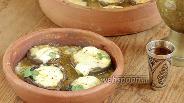 Фото рецепта Шампиньоны с сулугуни на кеци