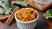 Фото рецепта Соус из калины с апельсином и корицей