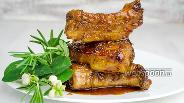Фото рецепта Свиные рёбрышки в маринаде из лука и чеснока