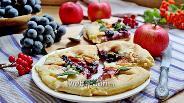 Фото рецепта Мини-галеты с творогом и яблоком