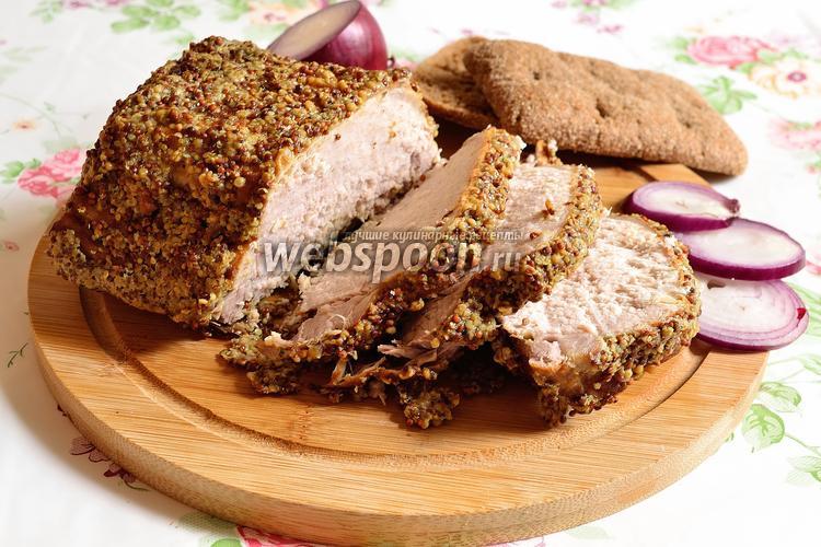 Рецепт Буженина с горчицей
