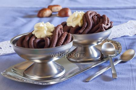 Десерт Монблан