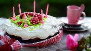 Фото рецепта Ягодный торт «Заколдованный лес»