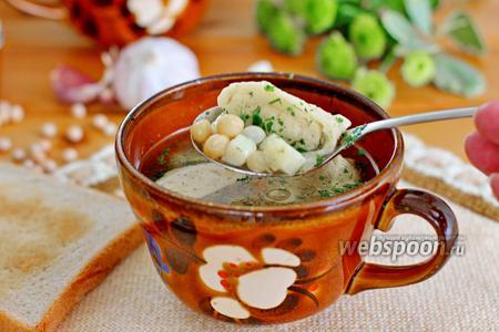 Гороховый суп с клёцками в мультиварке