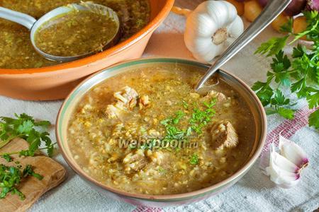 Грузинский суп харчо из говядины