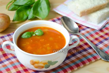 Овощной томатный суп