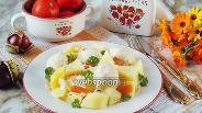 Фото рецепта Тефтели с овощным рагу