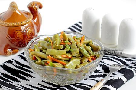 Салат с зелёной стручковой фасолью