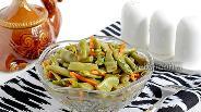 Фото рецепта Салат с зелёной стручковой фасолью