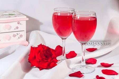Овшала — напиток из лепестков роз