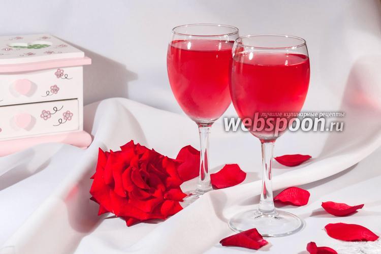 Фото Овшала — напиток из лепестков роз