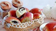 Фото рецепта Пирожки с маком в глазури