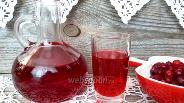 Фото рецепта Настойка из клюквы на водке