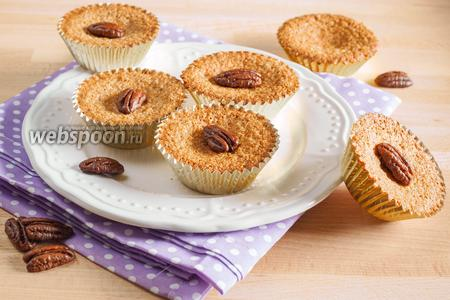 Ореховые маффины без муки