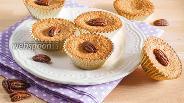 Фото рецепта Ореховые маффины без муки