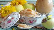 Фото рецепта Яблочное пюре «Неженка»