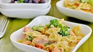Фото рецепта Фарфалле с лососем