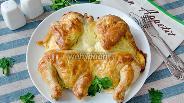 Фото рецепта Цыплёнок в сметанно-чесночной шубке