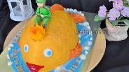 Фото рецепта Торт «Золотая рыбка»