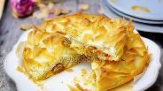 Фото рецепта Пикантный тыквенный штрудель-кухен