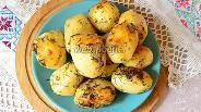 Фото рецепта Картошка в рукаве в духовке