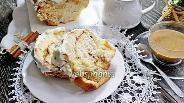 Фото рецепта Пирог «Гармошка» с корицей