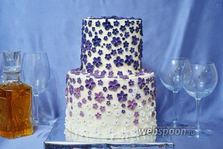 Крем с белым шоколадом для тортов