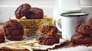 Фото рецепта Шоколадное печенье с кукурузной мукой